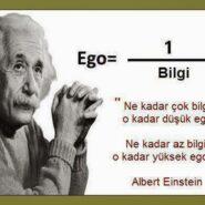 Ego=1/Bilgi ???